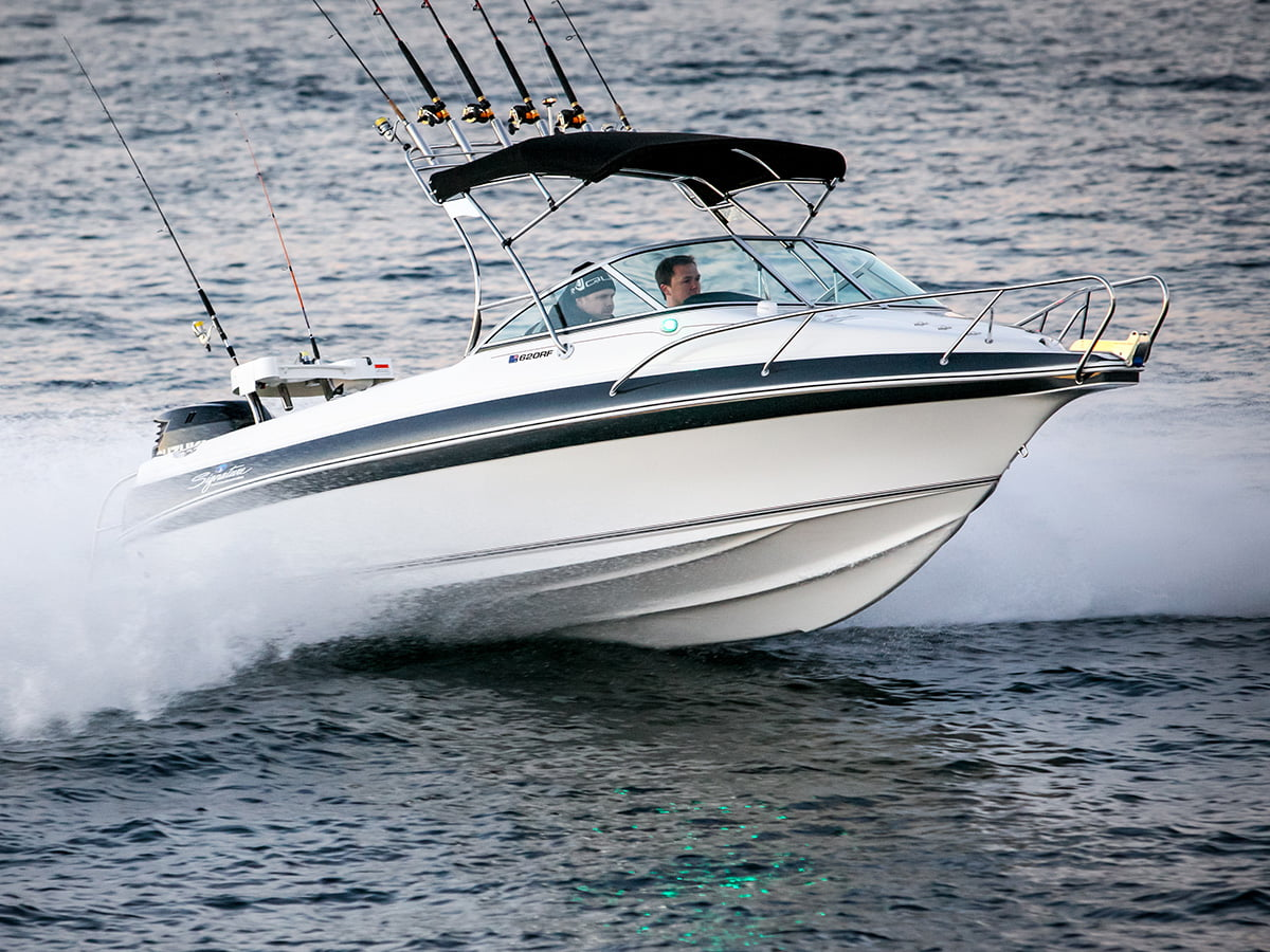 Haines Signature Runabout Fisher